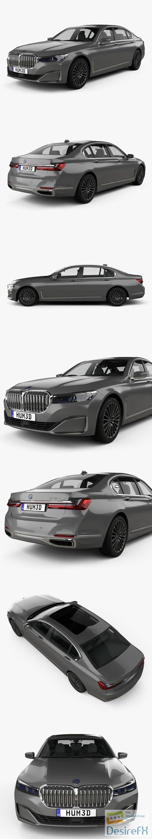 3d-models - BMW 7-series L 2019 3D Model