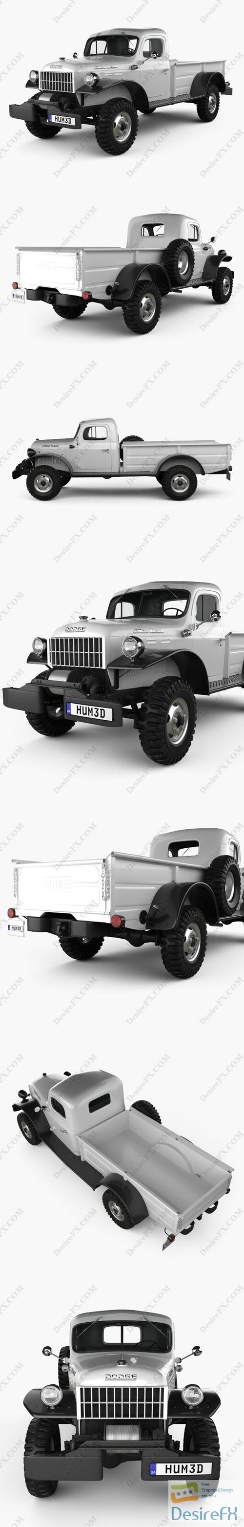 3d-models - Dodge Power Wagon 1946 3D Model