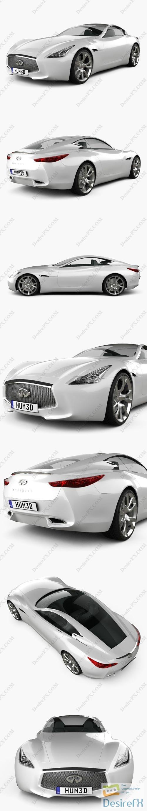 3d-models - Infiniti Essence 2011 3D Model