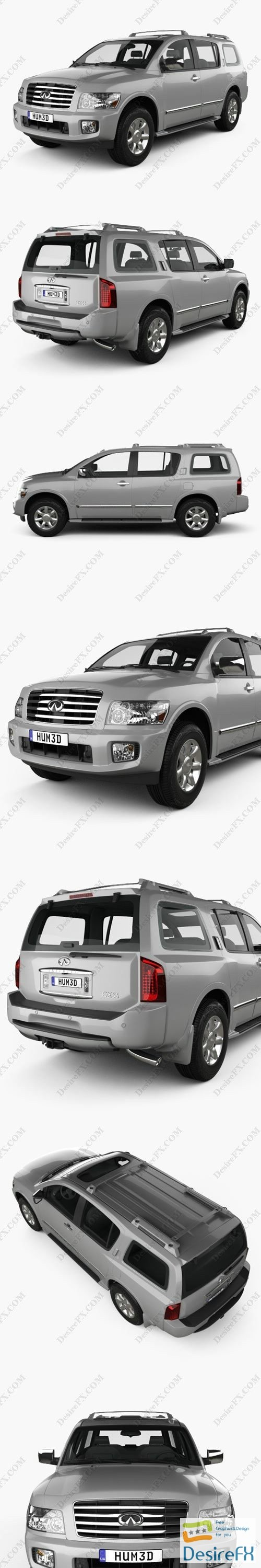 3d-models - Infiniti QX56 JA60 2004 3D Model