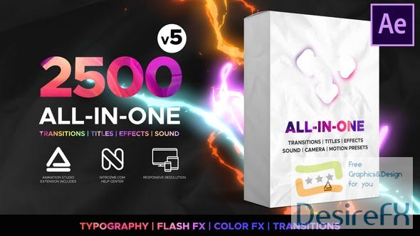 Videohive Transitions and Effects 23955941 V5 with Panel (Work!)