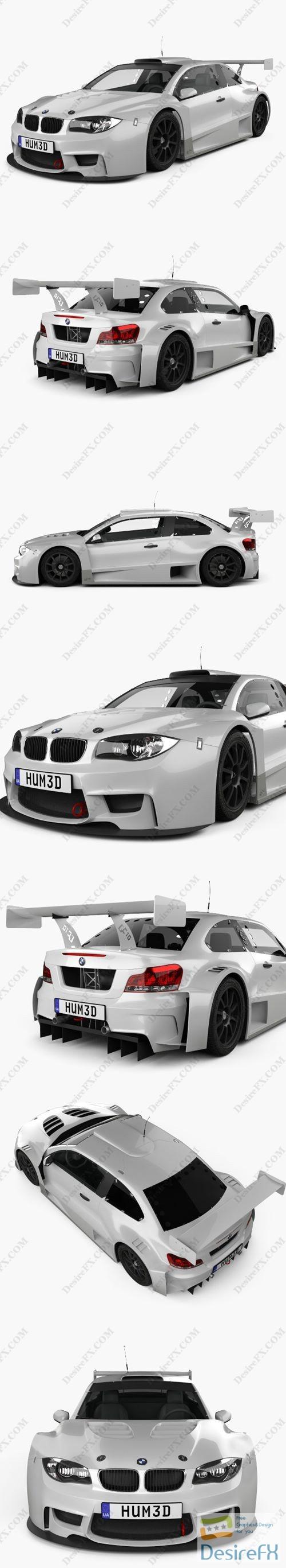 BMW M1 GC10-V8 coupe 2011 3D Model
