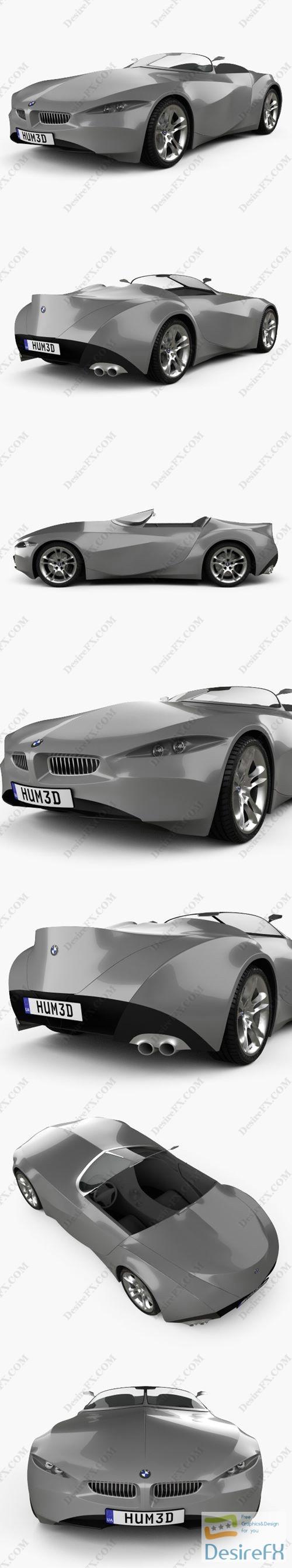 BMW GINA Light Visionary Model 2008 3D Model