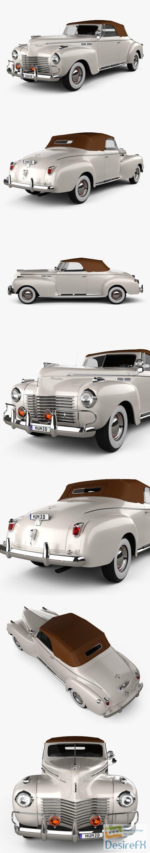 Chrysler New Yorker Highlander 1940 3D Model