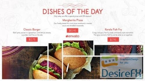 Videohive - Restaurant Menu Food Promo 25633995