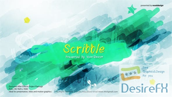 Videohive - Scribble Show Opener 25434754