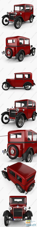 BMW DiXi 1928 3D Model