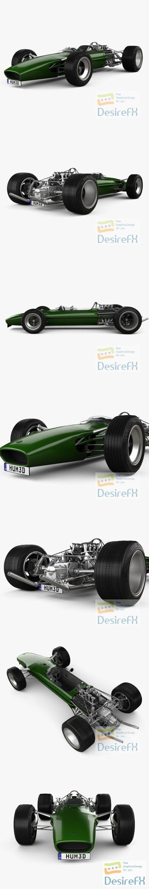 Lotus 49 1967 3D Model
