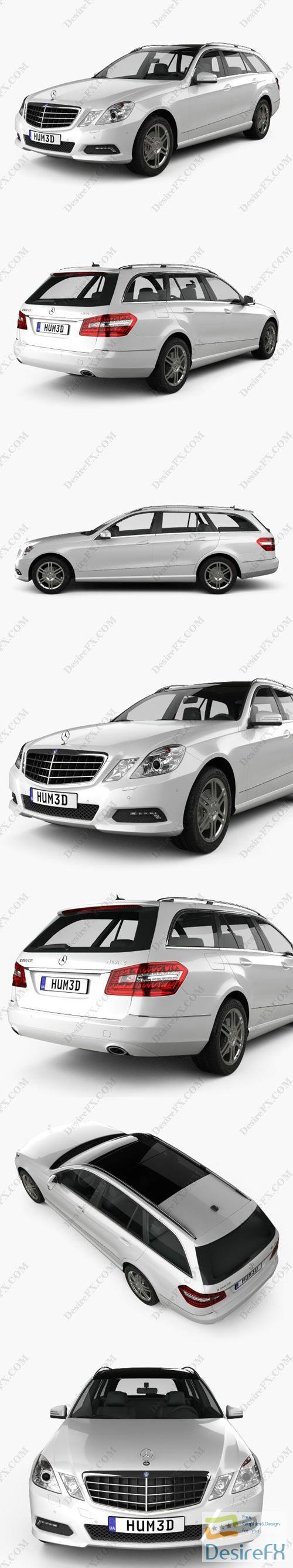 Mercedes-Benz E-Class Estate 2010 3D Model