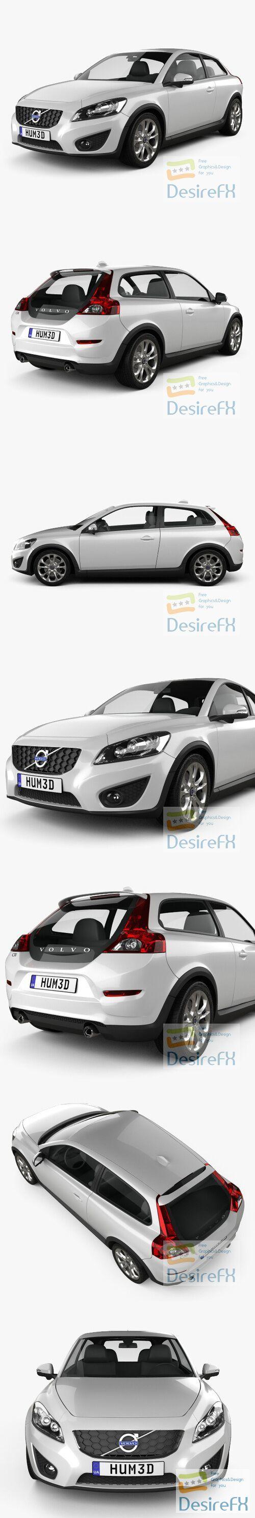 Volvo C30 2011 3D Model