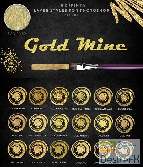 Thehungryjpeg - Gold Mine - 34701