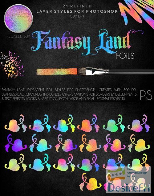 Fantasy Land Foils - 82069 - Potoshop Styles