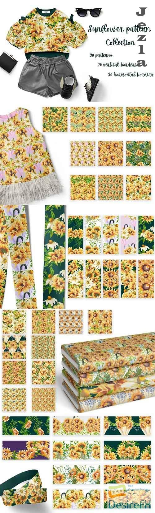 Sunflower Pattern Collection - 585844