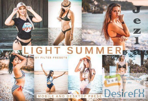 Cinematic Light Summer Lightroom Presets