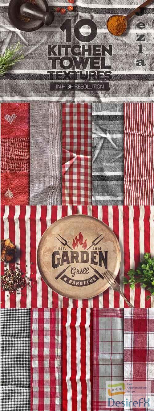 Kitchen Towel Textures x10 - 4909378