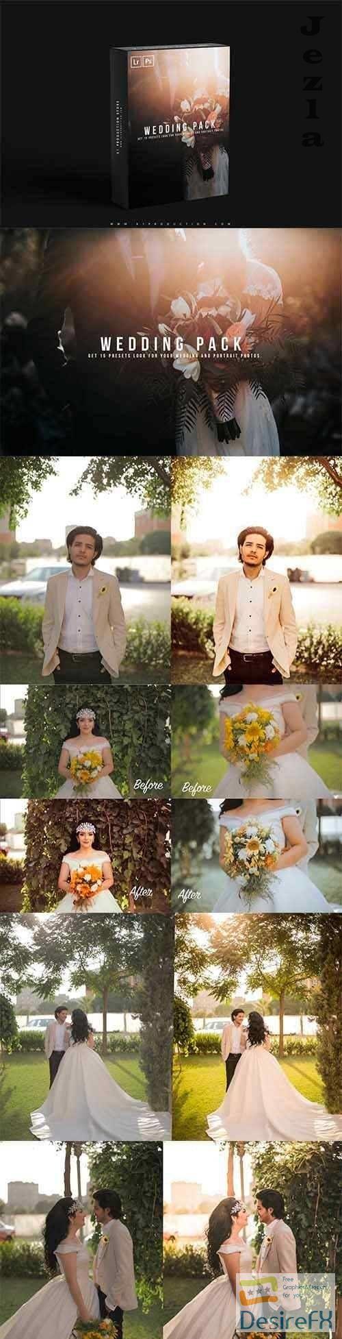 Wedding Lightroom Presets Pack - 4803526