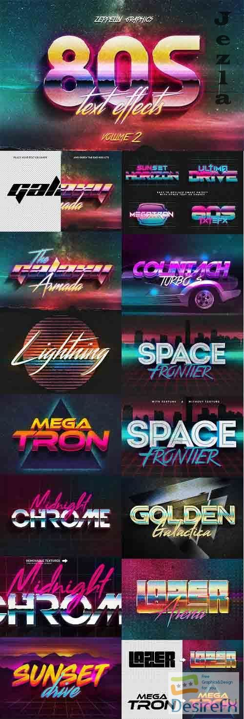 80s Text Effects Vol.2 - 26502843