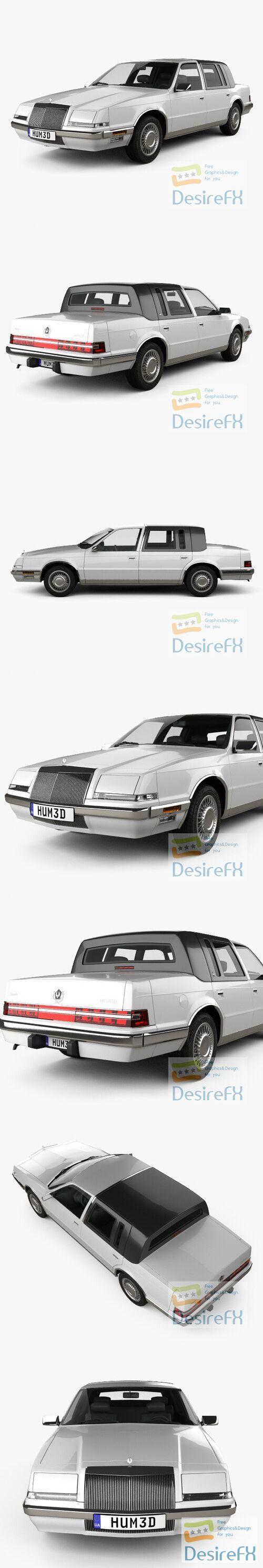 Chrysler Imperial 1989 3D Model