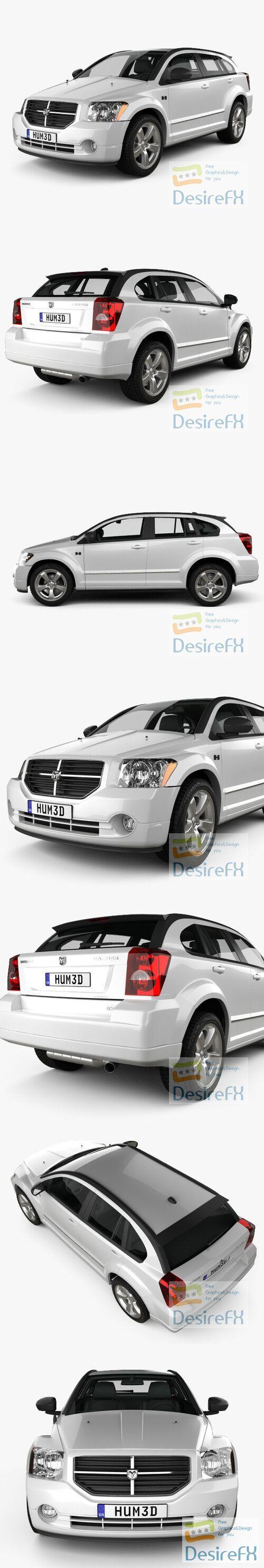 Dodge Caliber 2010 3D Model