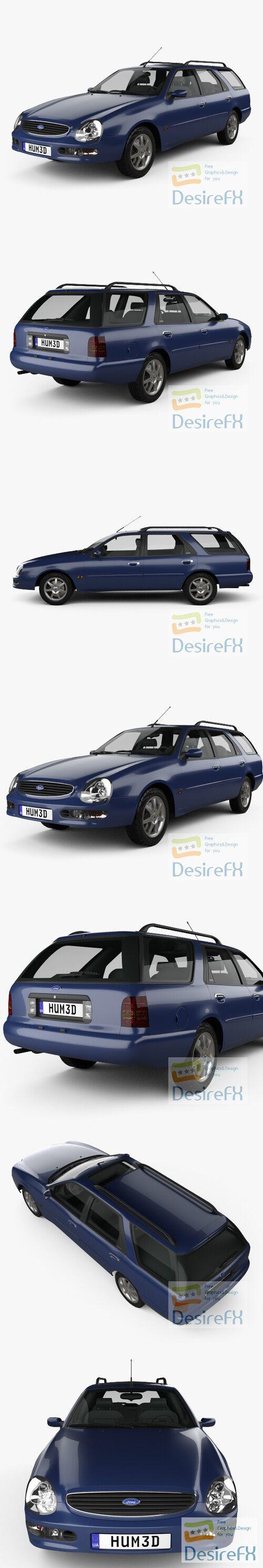 Ford Scorpio wagon 1994 3D Model