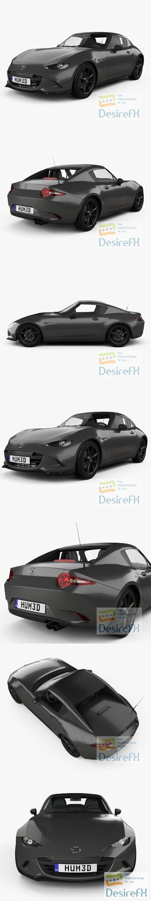 Mazda MX-5 RF 2016 3D Model