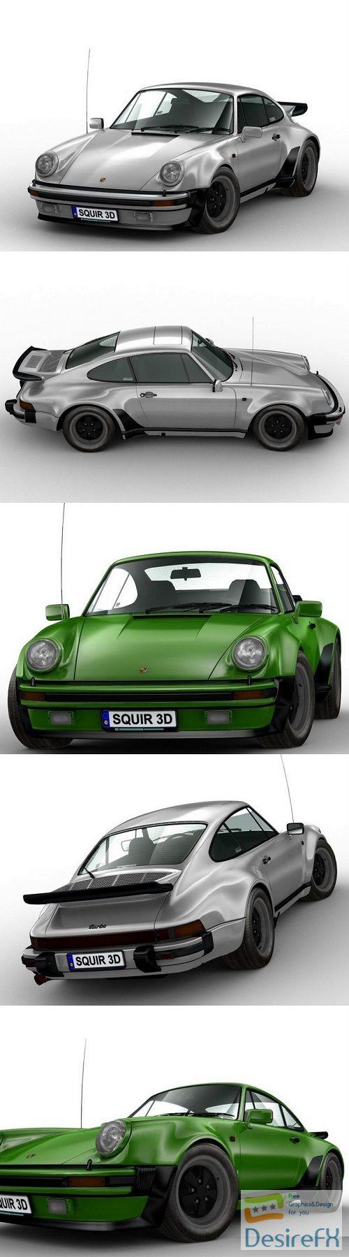Porsche 911 1973 3D Model
