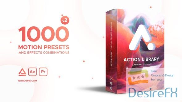 Videohive  Action Library  Motion Presets Package V2  22243618