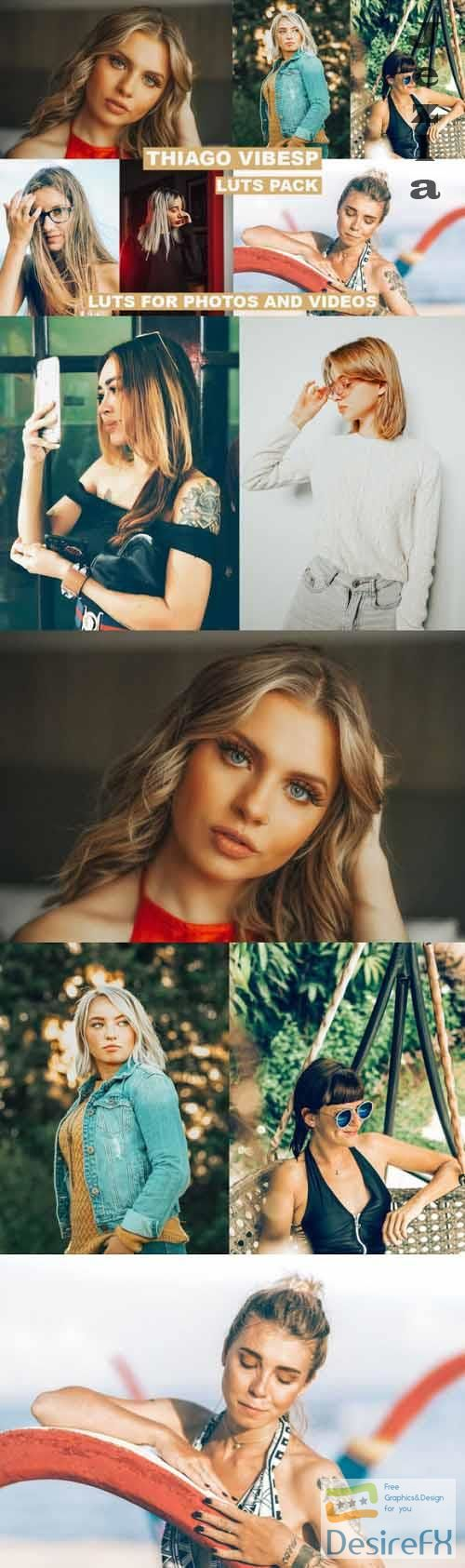 Cinematic LUTs for Photos and Videos