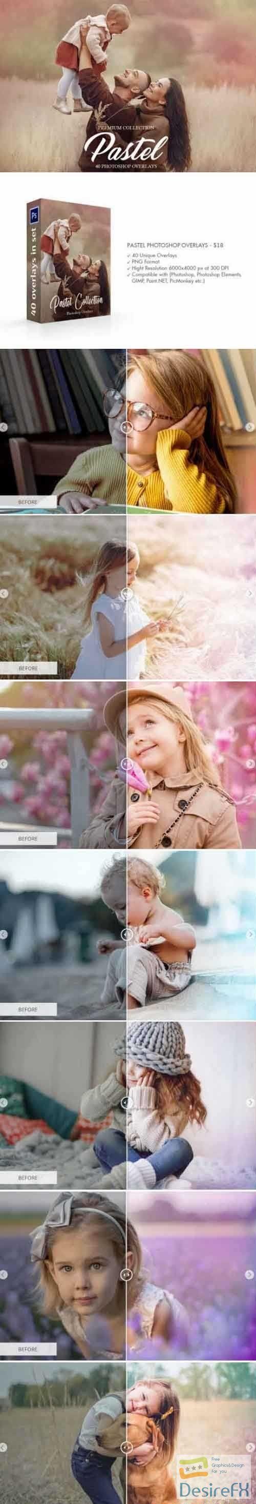 Pastel Overlays Photoshop 4737126
