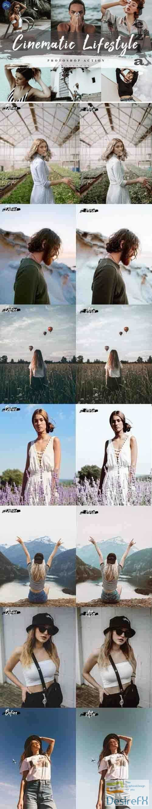 5 Cinematic Lifestyle Photoshop Actions