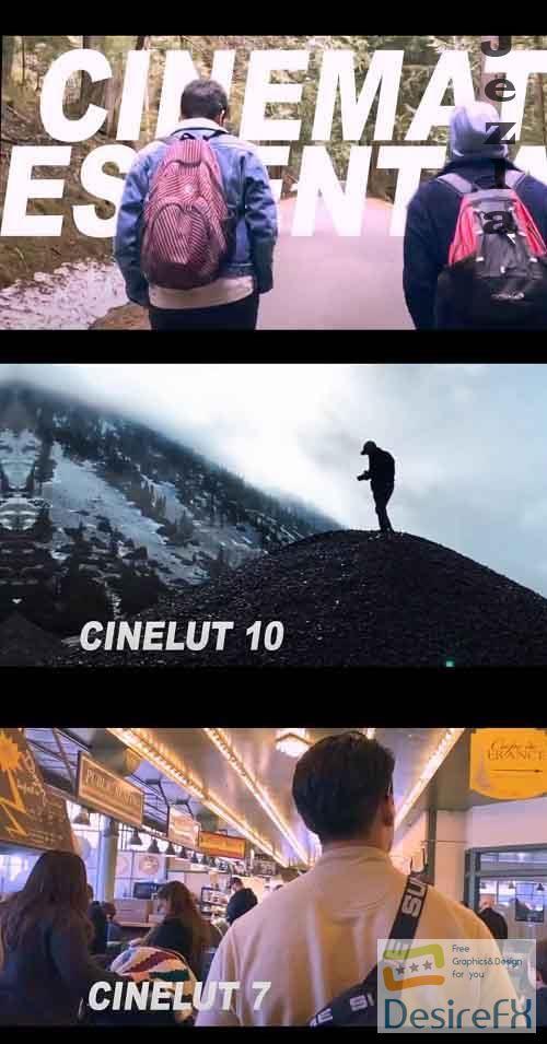 2020 Cinematic Essentials LUT Pack - 4961782
