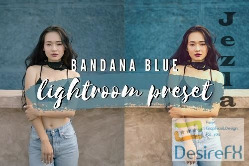 Bandana Blue Lightroom Preset 4900664