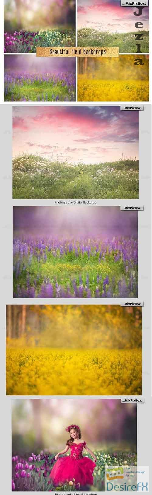 Beautiful Field Backdrops - 4970510