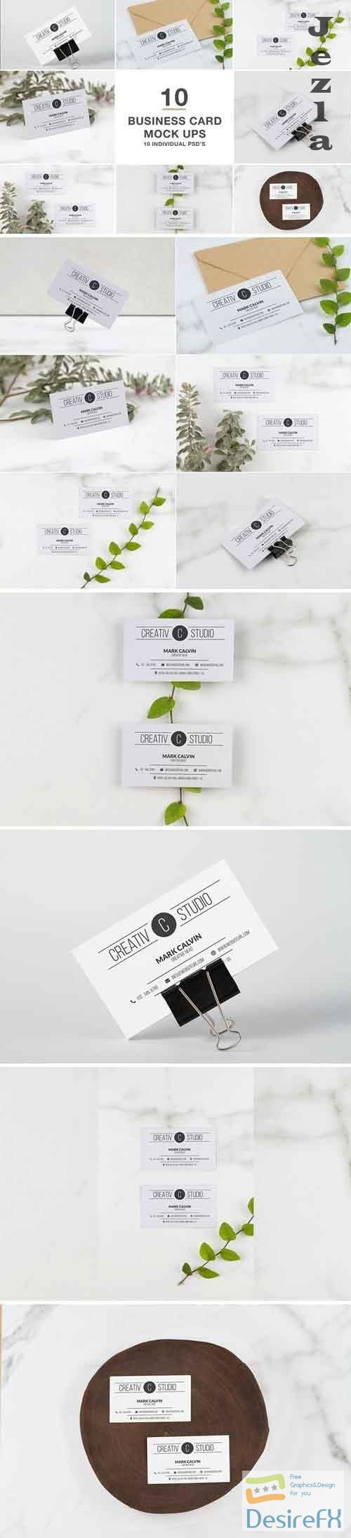 Business Card series Mock Up