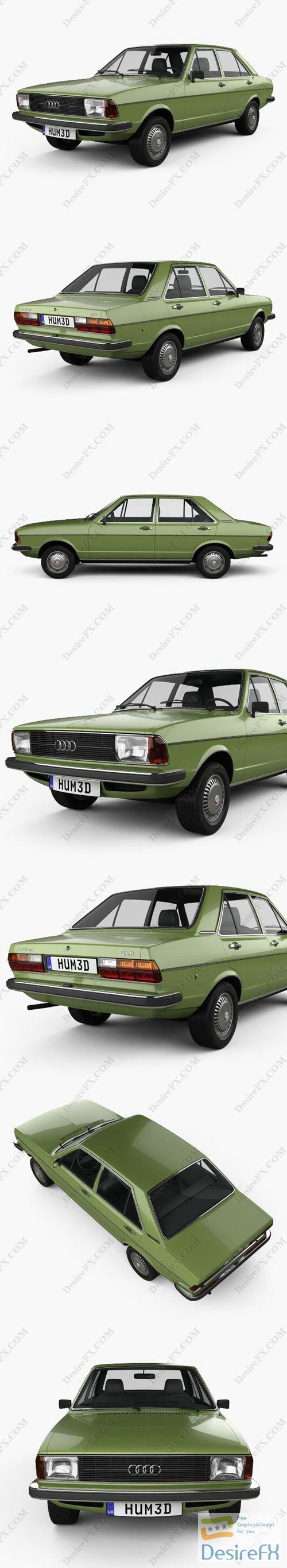 Audi 80 1976 3D Model