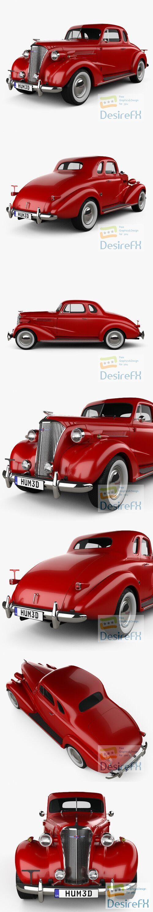 Chevrolet Master DeLuxe 1937 3D Model