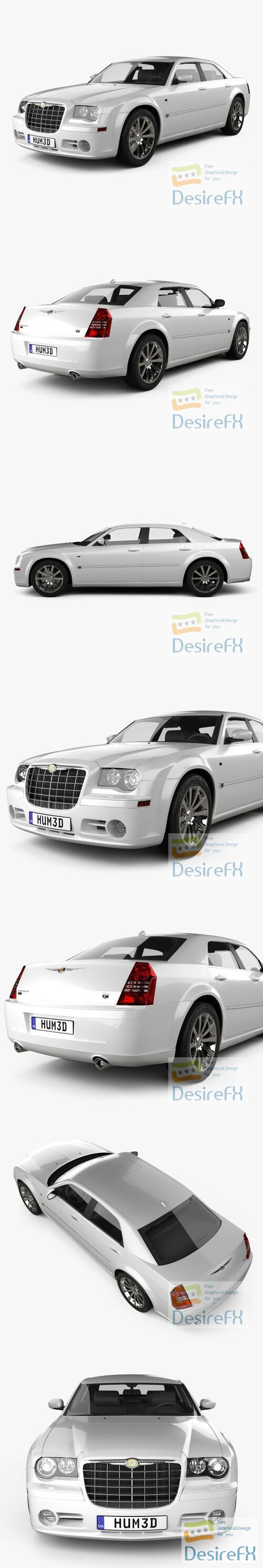 Chrysler 300C 2009 3D Model