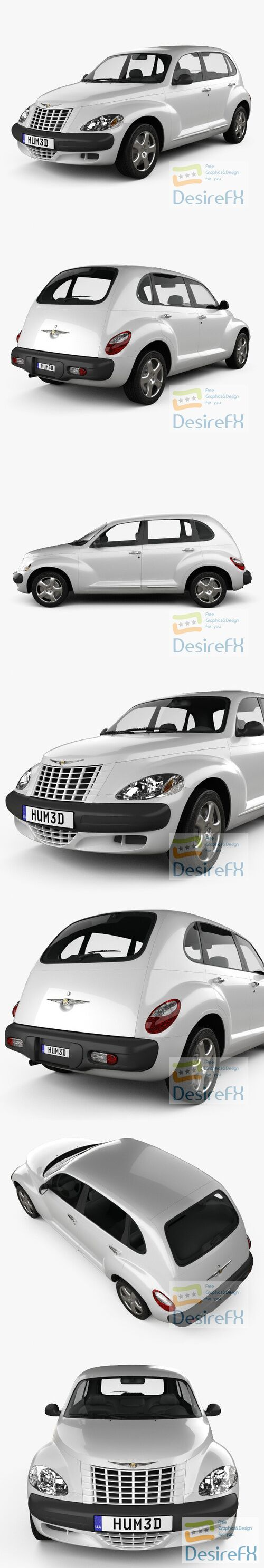 Chrysler PT Cruiser 2005 3D Model