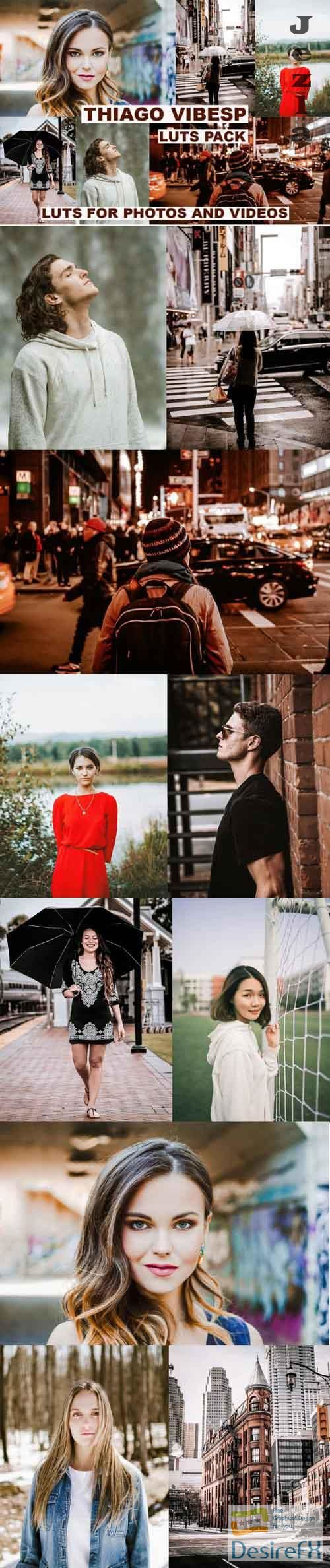 Cinematic LUTs Pack for Photos & Videos