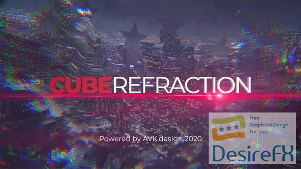 Videohive - Cube Refraction - 26830032