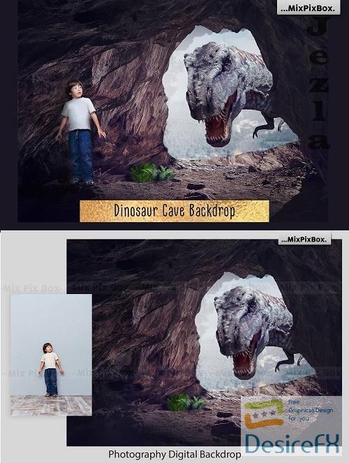 Dinosaur Backdrop - 4978775