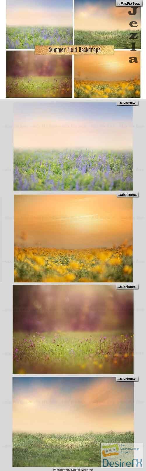Summer Field Backdrops - 4970525