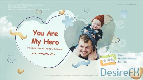 Videohive Fathers Day Opener 27367838