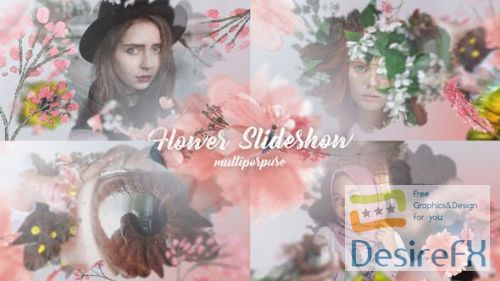 Videohive Flower Slideshow 22289498