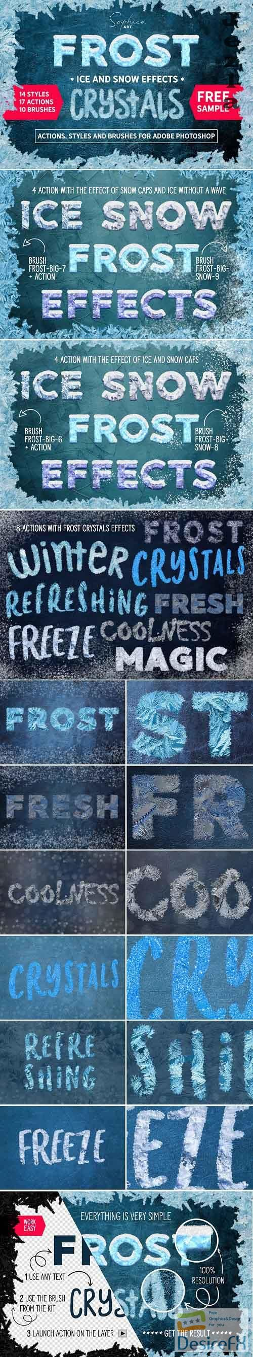Frost Actions Styles Brushes For Ps 4603626