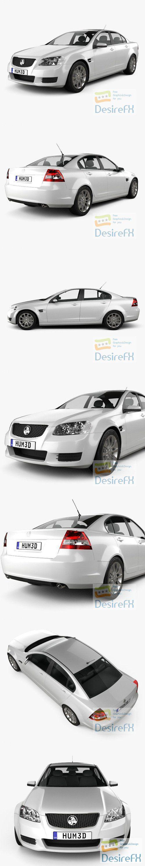 Holden Commodore VE Sedan 2012 3D Model