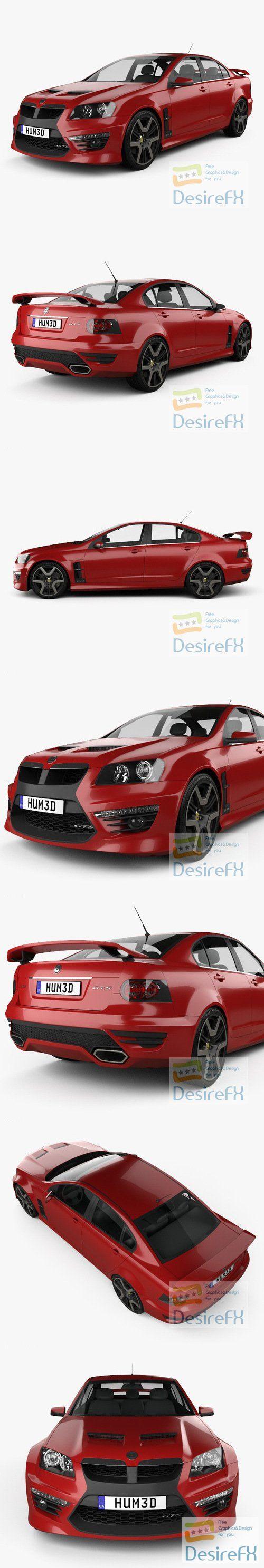 Holden HSV GTS 2012 3D Model