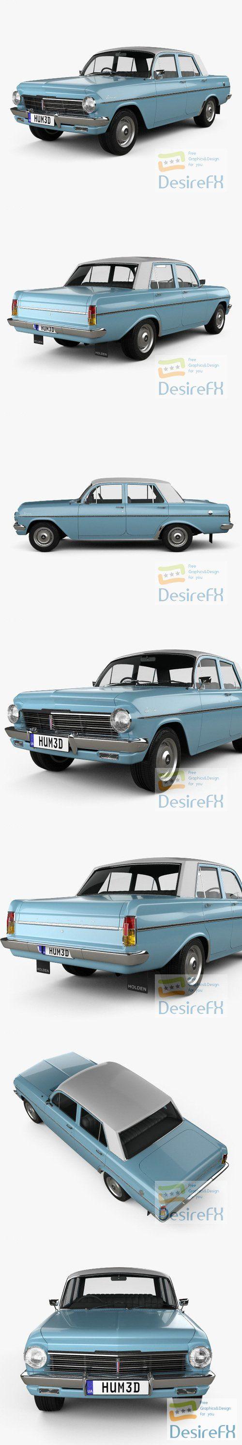 Holden Special 1963 3D Model