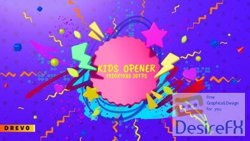 Videohive Kids Opener 27292859