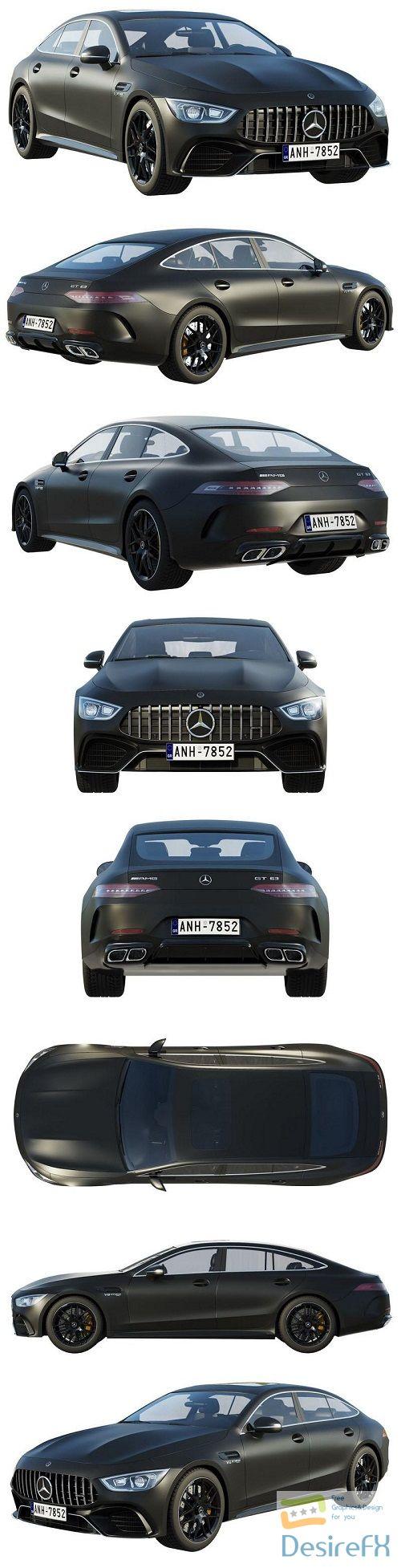 Mercedes-Benz AMG GT 63 4-door 3D Model